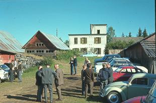 Honne på begynnelsen av 1970-tallet før Skogbrukets Kursintstitutt flyttet hit.