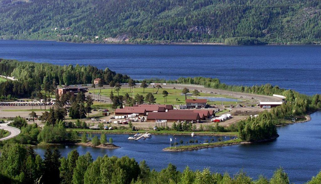 Utsikt fra Honne Hotell